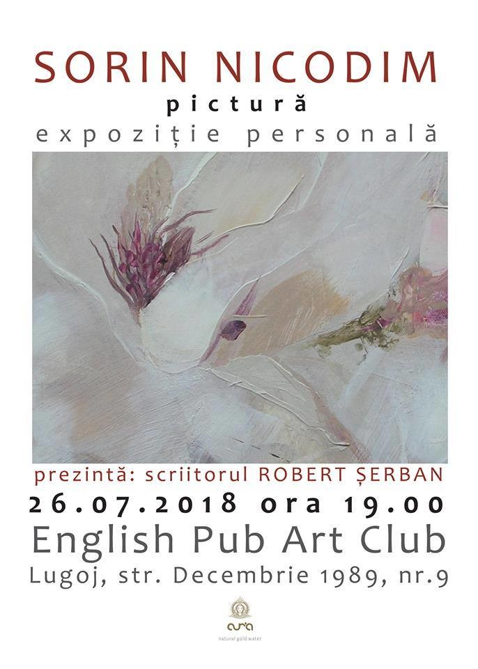 Lugoj Expres Expoziție de pictură, la English Pub Art Club Lugoj Sorin Nicodim pictura expoziție eveniment English Pub Art Club Lugoj