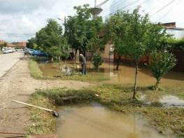 Lugoj Expres Bilanțul fenomenelor meteo periculoase din zona Făgetului: 114 case și curți inundate (FOTO) urgență ploi abundente ISU Timiș inundații Făget inundații intervenții fenomene meteo periculoase Făget dezastru case inundate