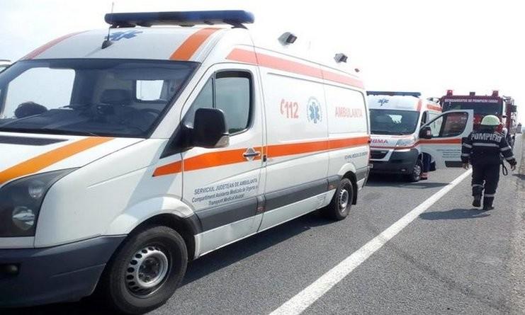 Lugoj Expres Patru persoane rănite, într-un accident pe DC 125 victime vătămare corporală șoferițe Pogănești persoane rănite patru victime DC 125 copii răniți Bârna accident Pogănești accident