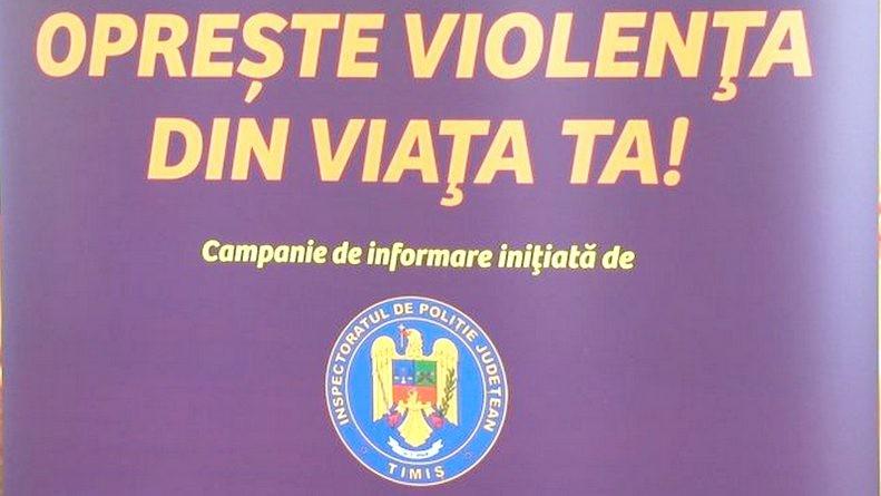 Lugoj Expres Campanie de prevenire a violenței în familie violența în familie violență prevenire IPJ Timiș infracțiuni informare familie campanie