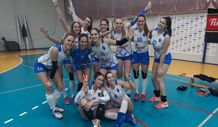Lugoj Expres CSM Lugoj - victorie în derby-ul Banatului volei Lugoj volei victorie UVT Agroland Timișoara Divizia A1 dery-ul Banatului CSM Lugoj