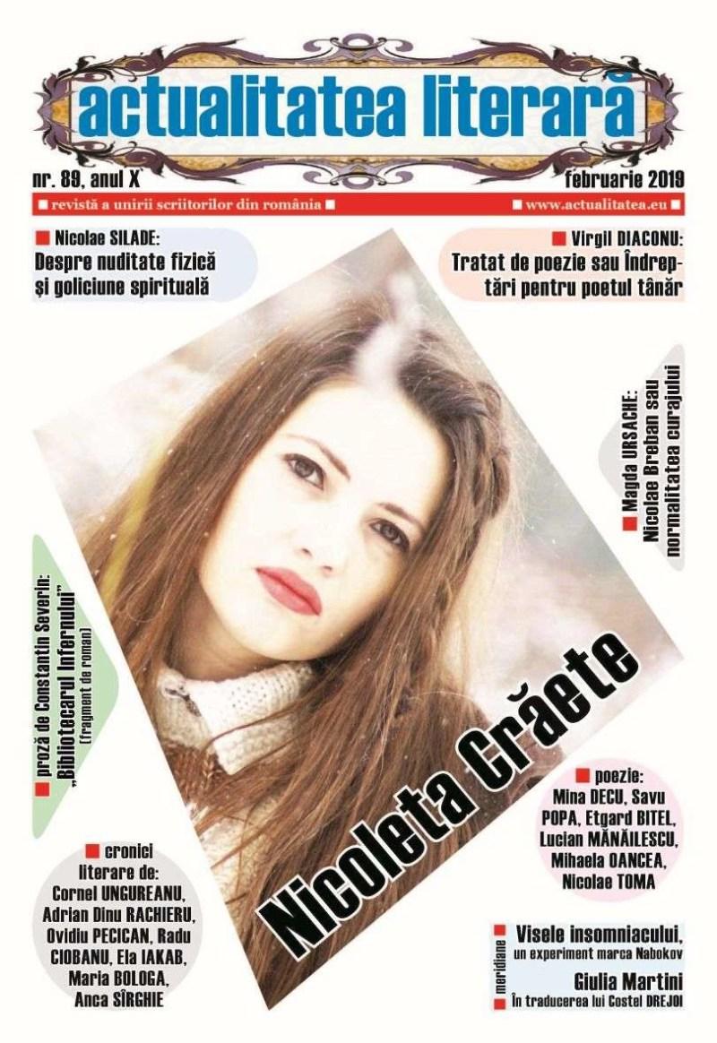 Lugoj Expres A apărut numărul 89 al revistei Actualitatea literară scriitori revistă proză poezie poeți librării cultură cronici literare actualitatea literară