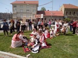 Lugoj Expres Cântecul toacei a răsunat și anul acesta, în Joia Mare, în centrul municipiului Lugoj toaca la Lugoj toaca Lugojana Joia Mare eveniment cântecul