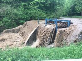 Lugoj Expres Cod roșu de inundații, în estul județului Timiș viituri Tomești Poieni Nădrag Lugoj ISU Timiș inundații Făget Crivina Coșteiu de Sus cod roșu avertizare idrologică avertizare alertă roșie