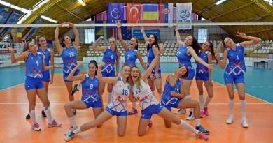 Lugoj Expres CSM Lugoj, pe primul loc în prima ligă de volei feminin volei feminin volei victorie primul loc premiera Lugoj Divizia A1 Dinamo București CSO Voluntari CSM Lugoj