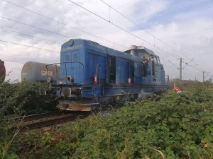 Lugoj Expres incendiu locomotiva 2
