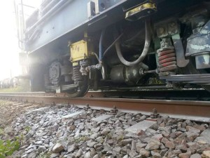Lugoj Expres incendiu locomotiva 4