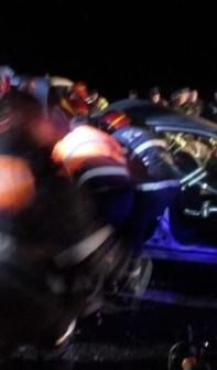 Lugoj Expres Carambol pe autostrada A1! Șase autovehicule implicate și cinci persoane rănite șase autovehicule persoane rănite Margina Lugoj două autotrenuri cinci victime carambol Bethausen autostrada A1 accident