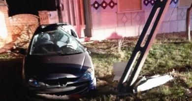Lugoj Expres Accident produs de un tânăr beat și fără permis vătămare corporală persoane rănite permis de conducere influența alcoolului fără permis Balinț alcoolemie accident Balinț accident