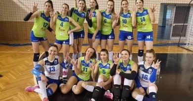 Lugoj Expres CSM Lugoj, la cel de-al treilea succes consecutiv în 2020 volei feminin volei victorie Universitatea NTT Data Cluj optimi de finală Lugoj joc Divizia A1 Cupa Challenge CSM Lugoj