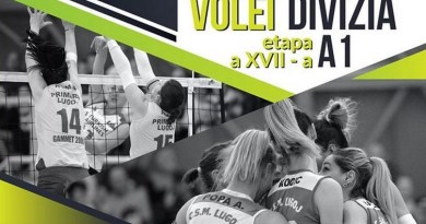 Lugoj Expres Invitație la volei: CSM Lugoj - Dinamo București volei feminin volei prima ligă Lugoj joc Divizia A1 Dinamo București CSM Lugoj