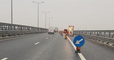 Lugoj Expres Atenție, șoferi! Restricții de circulație, pe autostrada A1 Timișoara șoferi restricții Lugoj reparații lucrări circulație banda a doua Autostrada atenție A1
