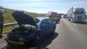 Lugoj Expres accident A1 2