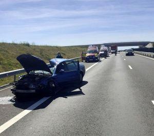 Lugoj Expres accident A1 8
