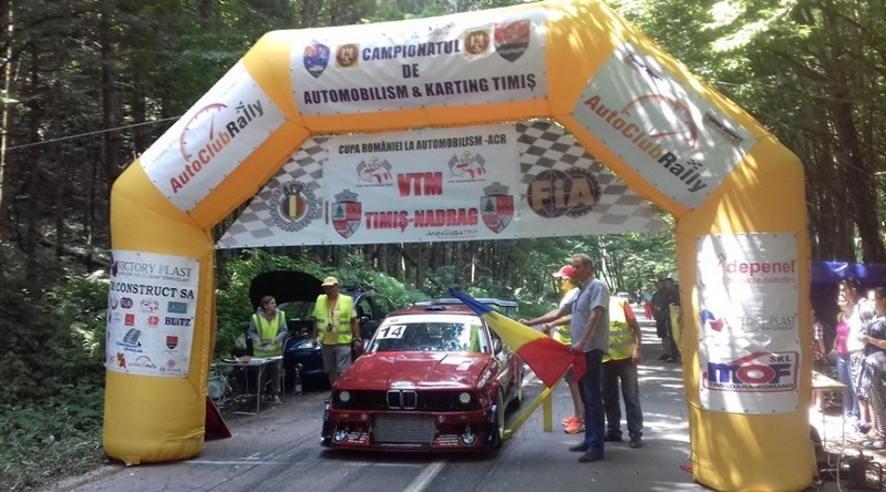 Lugoj Expres Cupa României la automobilism: Cupa VTM Timiș - Nădrag 2020 VTM Timiș-Nădrag 2020 raliu Nădrag DJ 681 Cupa României competiție circulație închisă automobilism Auto Club Rally Timiș ACR Timiș ACR - CNAK Timiș 2020
