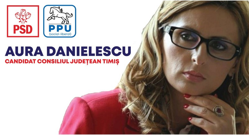 Lugoj Expres Aura Danielescu: În 27 de ani în învățământ nu am văzut aşa degringoladă (P) PSD învățământ degringoladă consiliul județean CJT candidați Aura Danielescu alegeri locale