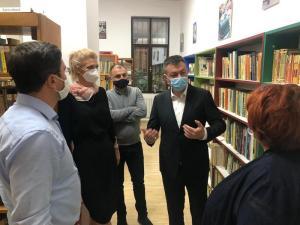 Lugoj Expres Ministrul Culturii la Biblioteca Lugoj 3