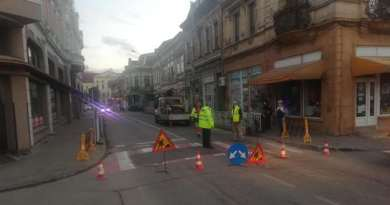 Lugoj Expres Atenție! Traficul rutier este restricționat în centrul Lugojului trafic rutier trafic restricționat Lugoj trafic restricționat trafic Lugoj Lugoj conducta de gaz avarie