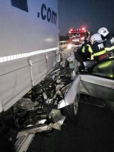 Lugoj Expres accident BMW A1 2