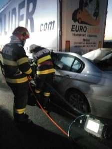 Lugoj Expres accident BMW A1 4