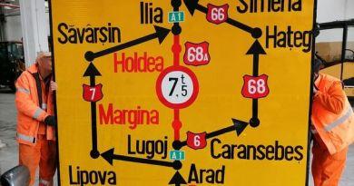 Lugoj Expres Restricții de circulație pentru camioane, pe DN 68A, între Margina și Holdea trafic restricționat trafic intens trafic greu structura rutieră restricții de circulație reparații Margina Lugoj lucrări Holdea DN 68A Deva Coșevița Coșava circulația camioanelor
