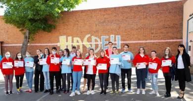 """Lugoj Expres Premii pentru elevii de la Liceul """"Iulia Hasdeu"""" implicați în proiectul ROSE proiectul Rose premii premiere Hasdeu elevi concursuri"""