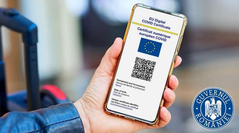 Lugoj Expres La trecerea frontierelor, în țările UE, vor fi recunoscute doar certificatele digitale COVID UE tranzitarea frontierelor test RT-PCR țările UE Ministerul Sănătății documente doveditoare ale vaccinării certificat digital COVID călătorii în UE