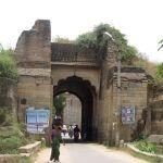 One of the gates to the Srirangapatna Fort