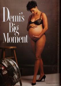 Demi Moore fotografata da Annie Leibovitz