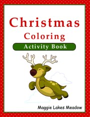 Christmas Coloring Activity Bookcover