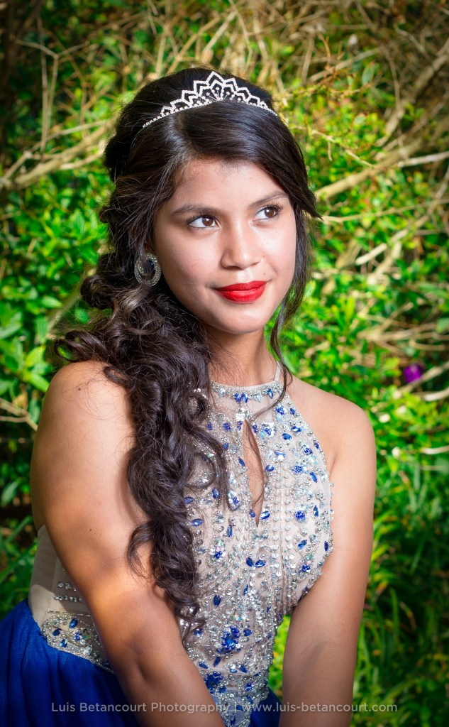 Quinceanera Photography in Lakeland, Tiara