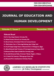 journalofeducationandhumandevelopment