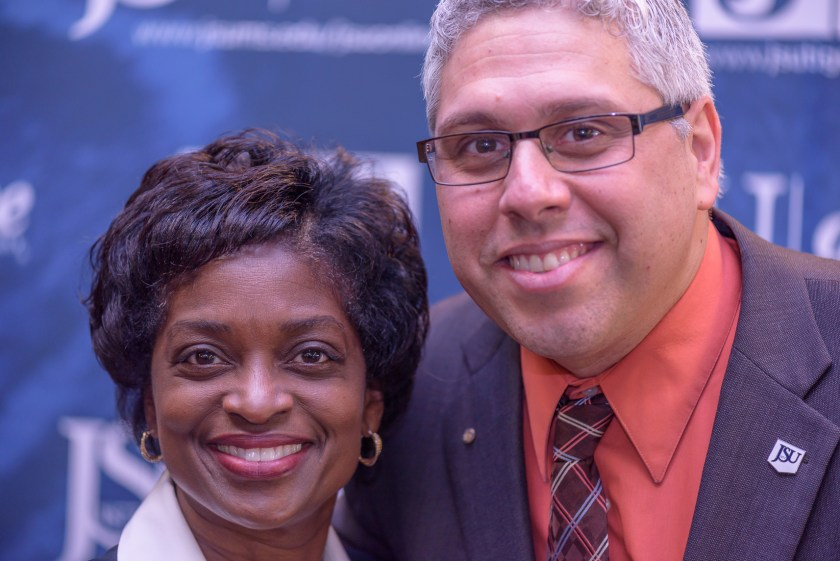 Photo of Dr. A And Ms. Mignon Clyburn, Head of FCC.
