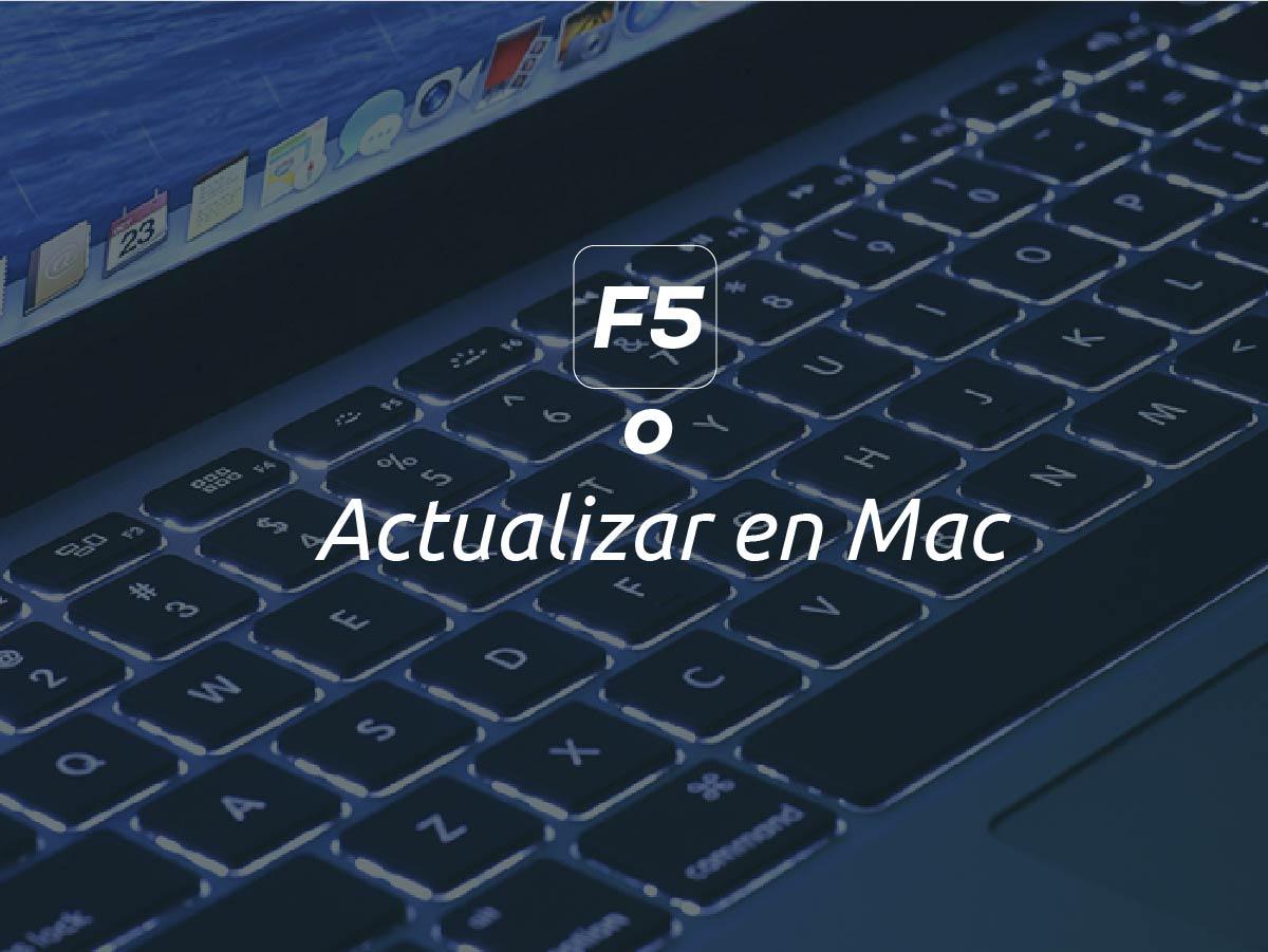 Actualizar en mac
