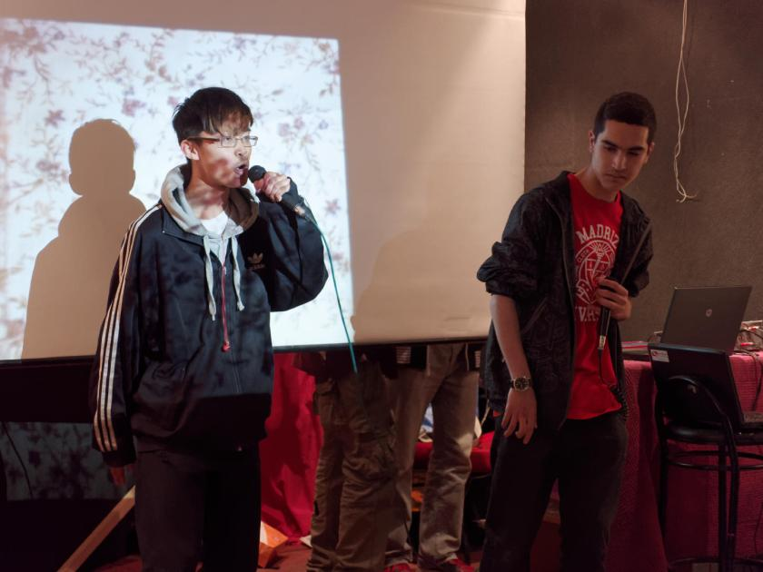 Festival Hip Hop Art Of Poetry en Lavapiés, Madrid. Fotografía de Luis F. Roncero.