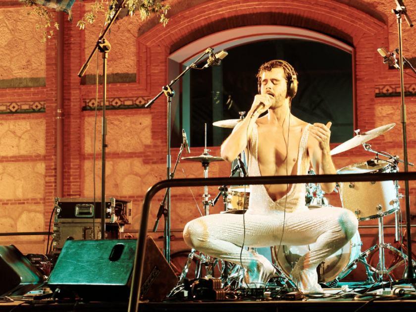 Hyperpotamus en directo en Matadero Madrid. Fotografía de Luis F. Roncero.