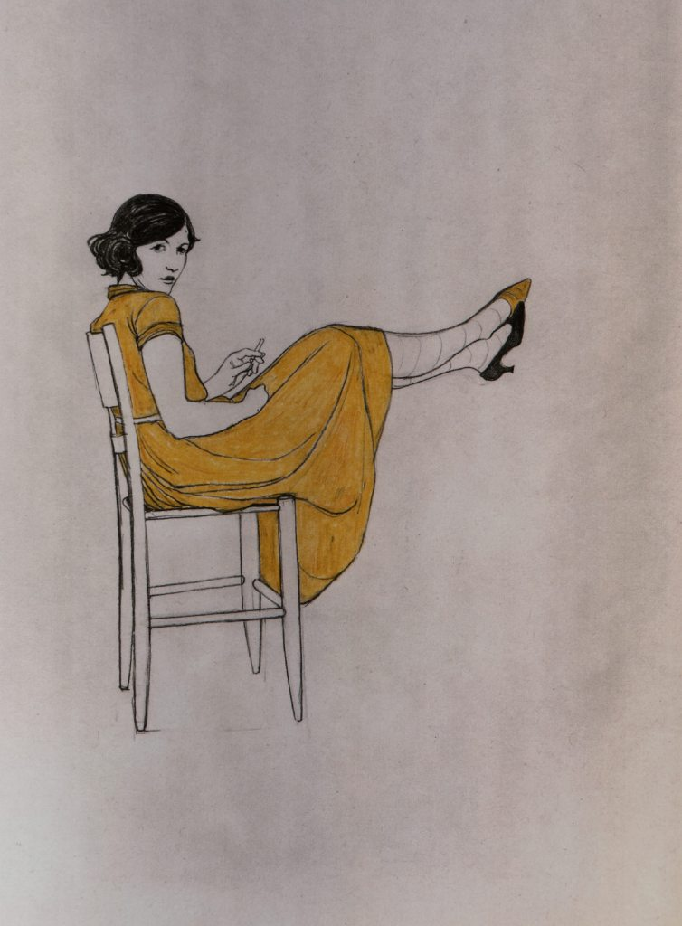 """Lauren Nassef - Treehouse. Extraido del """"Atlas de la ilustración contemporánea"""" (Maomao Publications, en 2009)."""