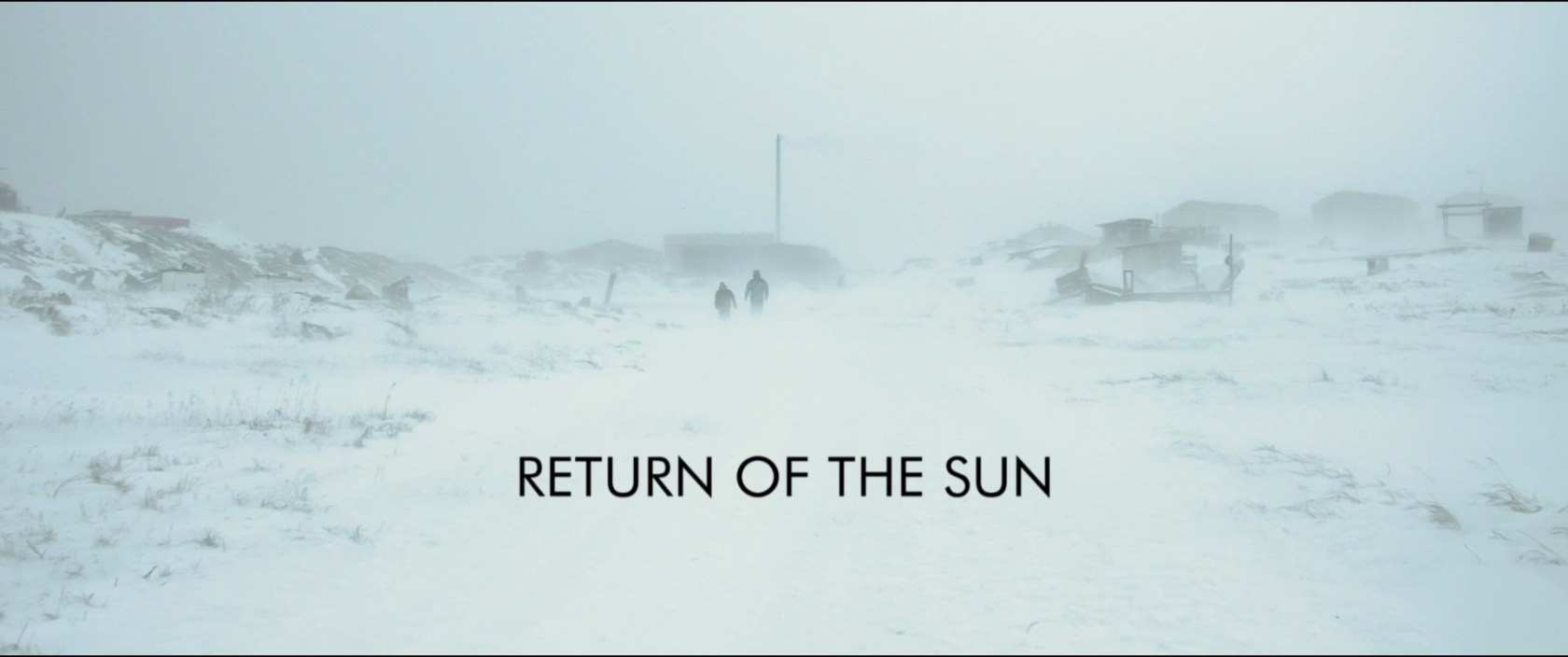 Return of the Sun (Glen Milner & Ben Hilton, 2012). Documentary title screenshot.
