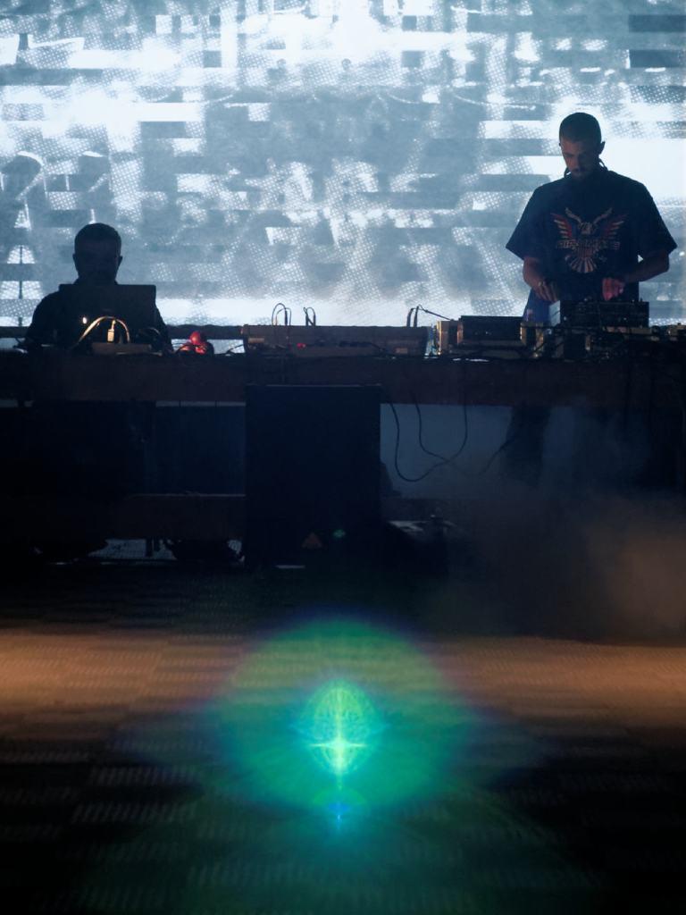 Snowy Beatz visuales y música electrónica en Matadero Madrid Fotografía de Luis F. Roncero.