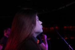 Tristan McNay performs at Harlows in Sacramento, California on Jan. 20.