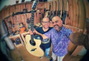 Luis Guerrero Spanish Acoustic Guitars - Lovers - Jaume Cabalgante