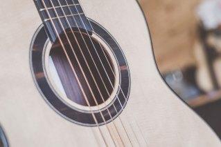 Luis Guerrero Spanish Acoustic Guitars F Series sound hole