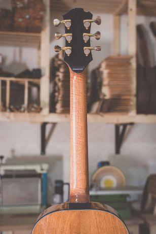 Luis Guerrero Spanish Acoustic Guitars S Series neckback