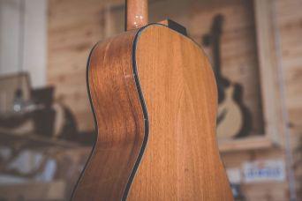 Luis Guerrero Spanish Acoustic Guitars S Series back