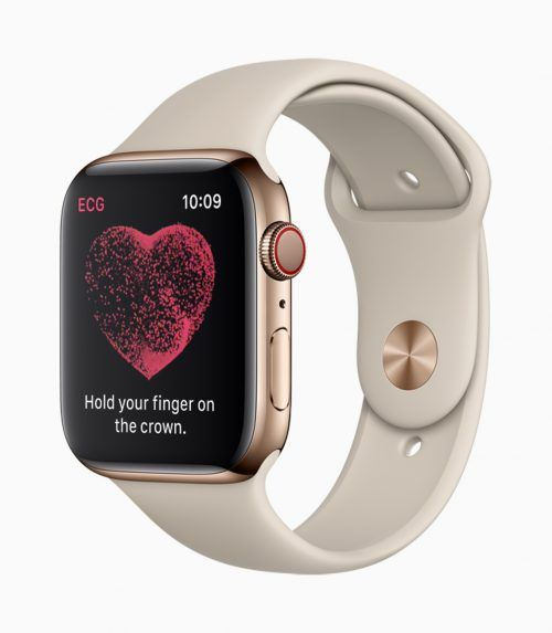 Galaxy Watch versus Apple Watch Series 4.