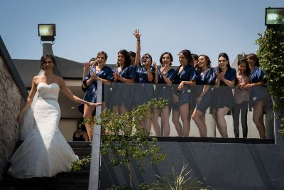Bride Squad Getting Ready by Luis Ibarra Wedding Photographer in Mexico