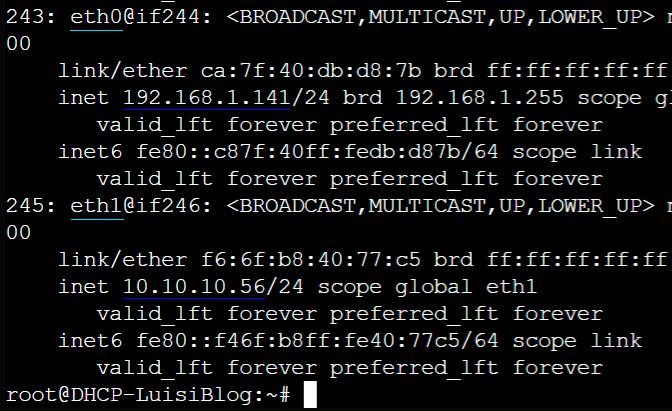 Servidor DHCP en Debian y Ubuntu 0