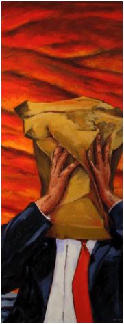 Retrato y pensamiento (2015), 48x36