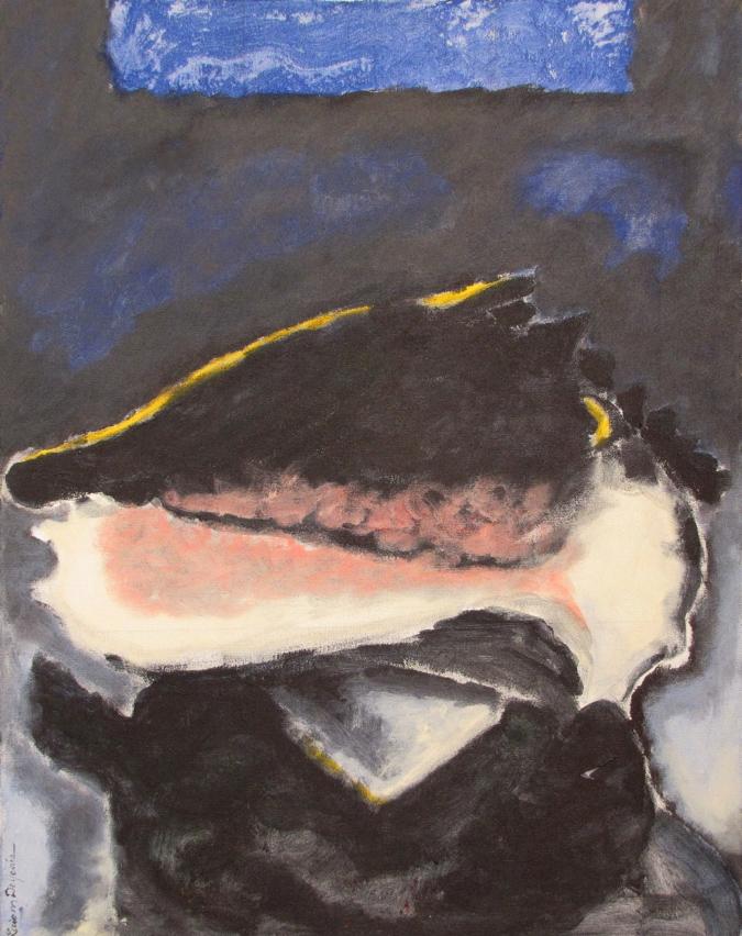 "Retrato XIII (Lobo) [Portrait XIII (Wolf)]. 2003, Acrílico sobre canvas, 28"" X 22"""