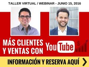 Webinar: Clientes y Ventas Con YouTube